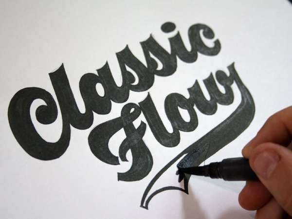 Classic Flow Calligraphy Font