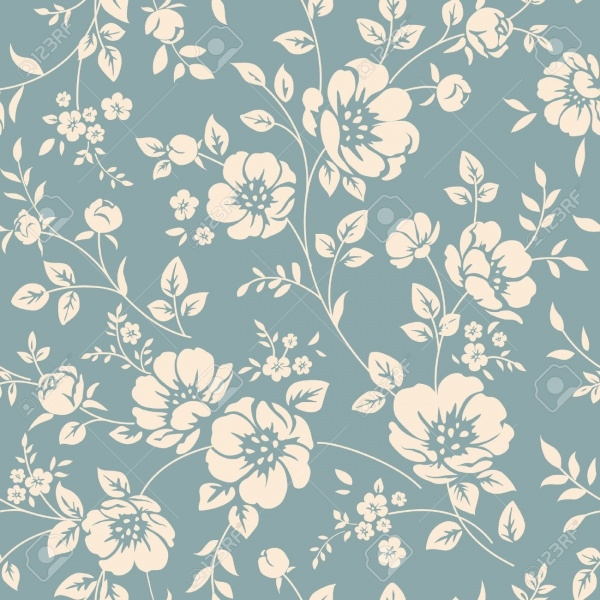 Classic Seamless floral pattern