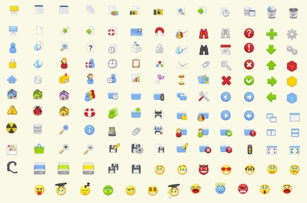 Collection of Web UI Vector Icons