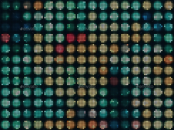 Colorful Dot Pattern Backgrounds