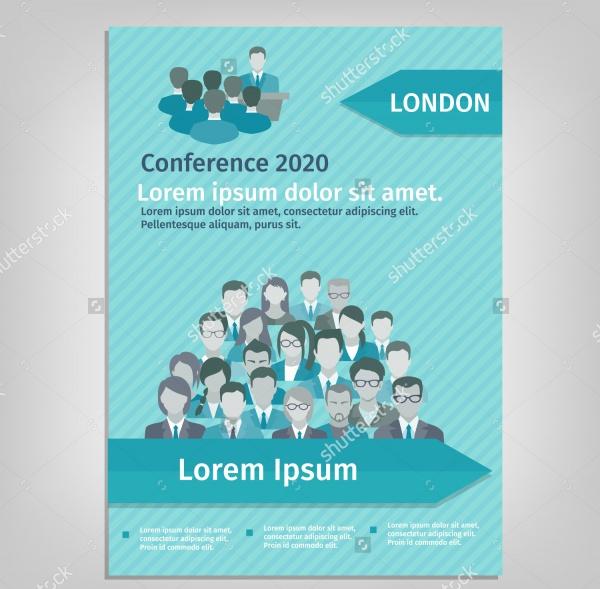 conference paper leaflet brochure