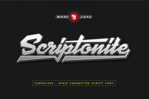 Cool masculine Script Font