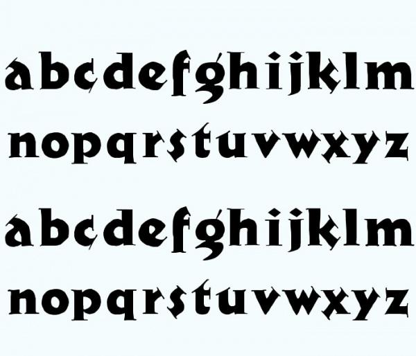 Cool newspaper Font