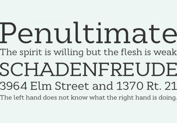 Corparate Serif Masculine Font