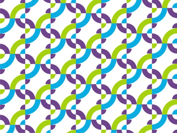 Corporate identity Futuristic pattern