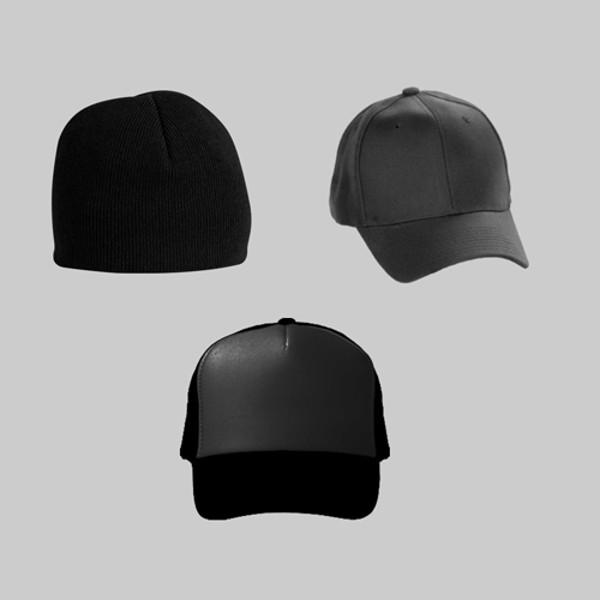 Creative Black Hat Mockup
