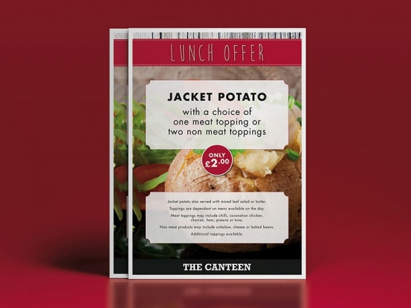 Creative Food Restaurant Menu Mock-Up