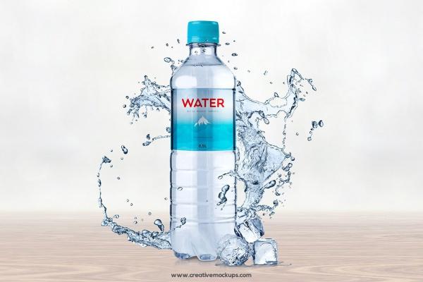 Creative  Water Bottle  Mock-ups
