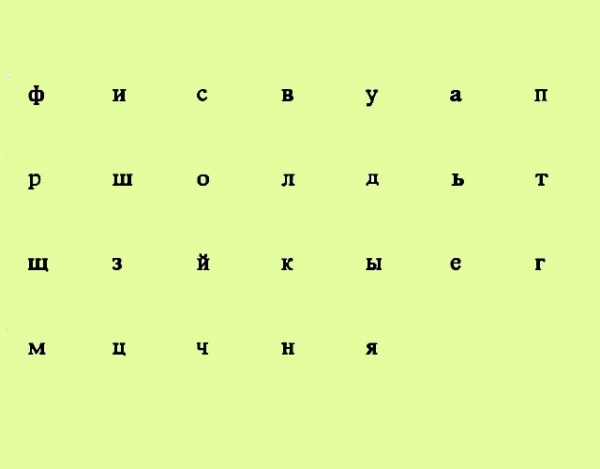Cyrillic Basic Normal