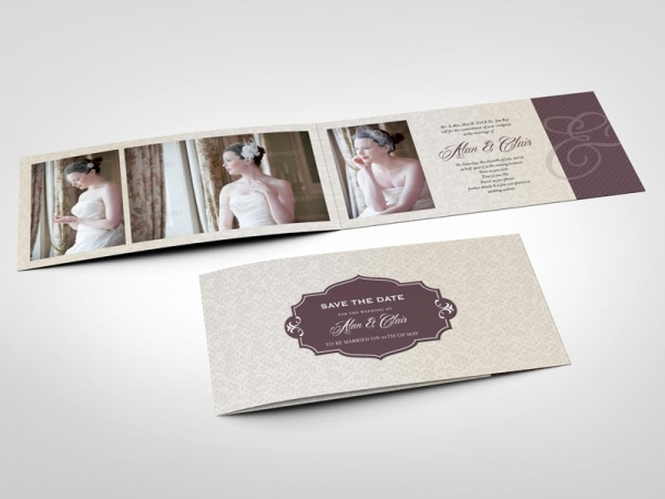 20 Folded Card Mockups – Folding Invitation Cards