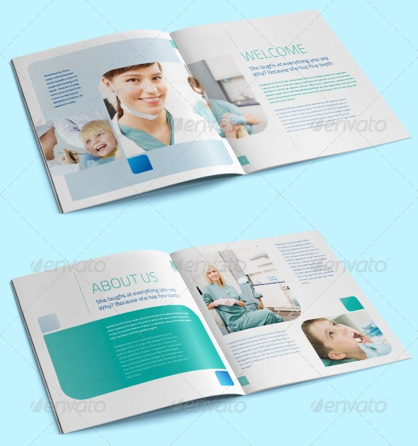 Dental Clinic - Health Care Brochure