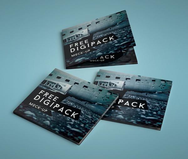 Digi Pack CD Mockup