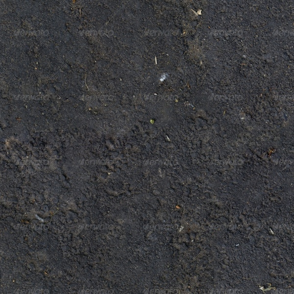 Dirt Ground - Tiled Texture