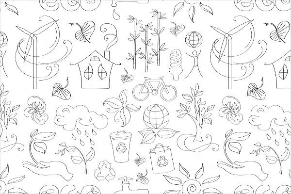 Doodle pattern ecology