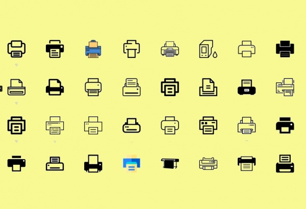 Download Printer Icons Collection