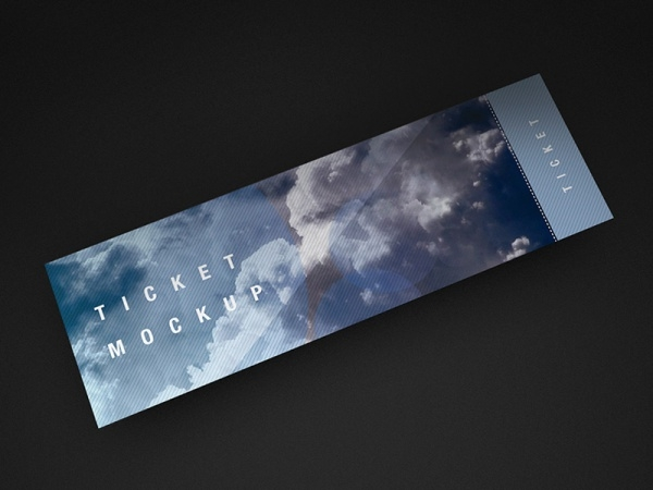 Download Ticket Mockup