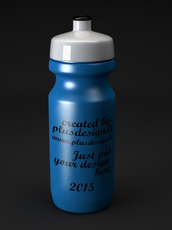 Download Water Bottle PSD  Mock-up