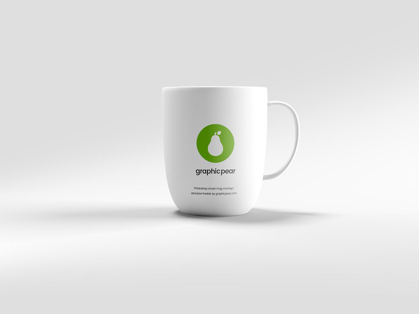 Editable Mug Mockup - Psd