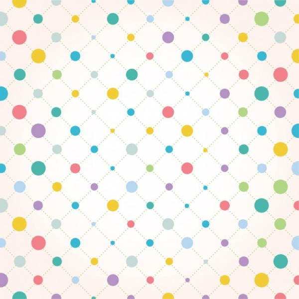 Editable Vintage Dots Pattern