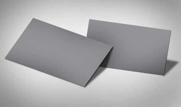 Elegant Folded Card Mockup