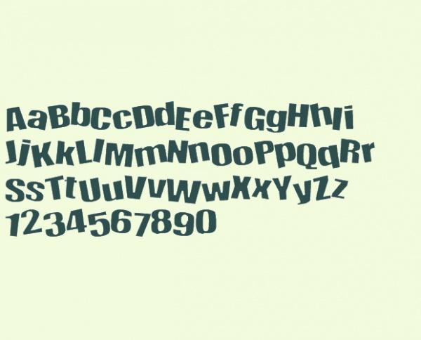 Elegant Happy Font
