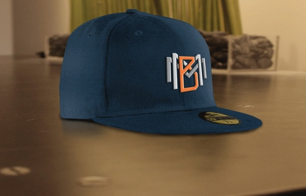 Elegant Hat Mockup PSD