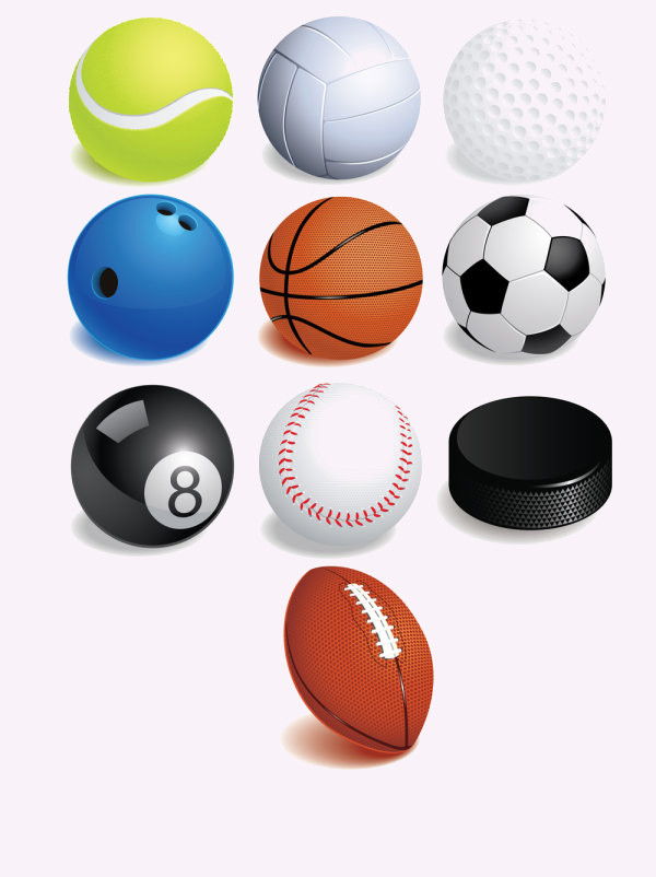 Equipment Sports Vector
