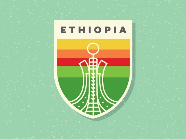 Ethiopia Shield Vector