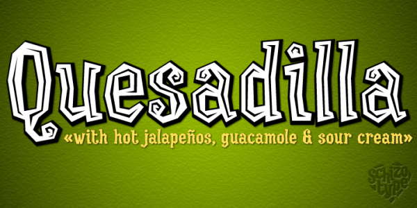 Exotic Mexican Tropical Font