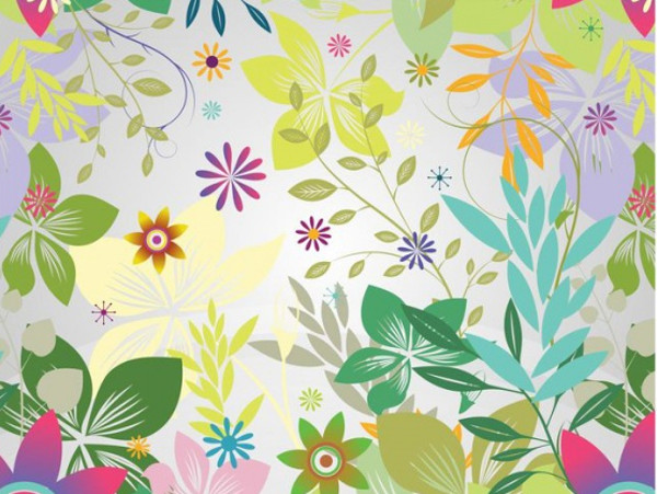 Exotic floral tropical patterns