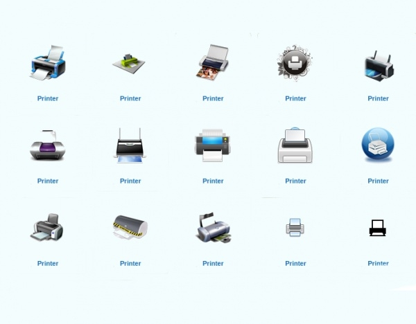 Extraordinary Printer Icons