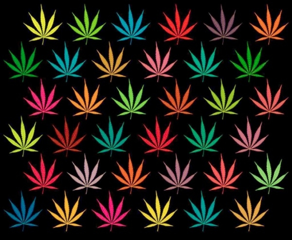 Fabulous Classic Weed Pattern