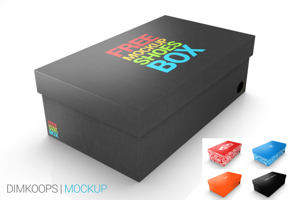 Fabulous Mockup Shoes Box