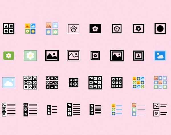 Falt Ui Icons Set