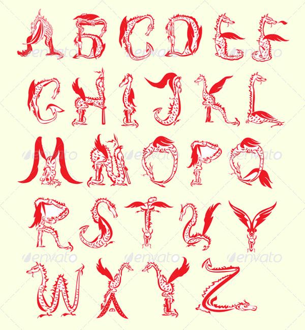 Fantasy Dragon Font