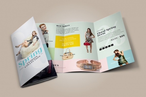 Fashion Sales Tri-Fold Brochure