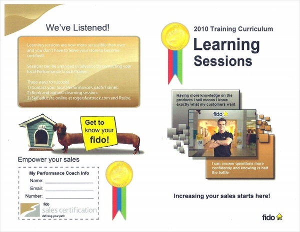 Fido Sales Certification Brochure