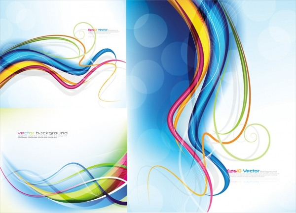 Fine linear patterns vector