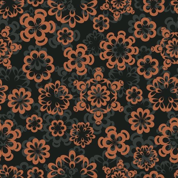 Flat Stylish Classic Pattern