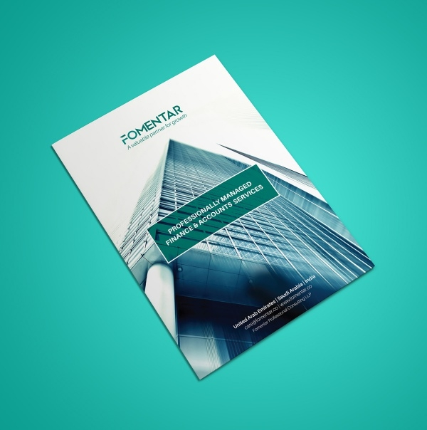 Fomentar Single Page Brochure