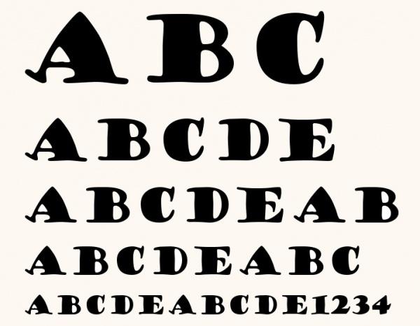 GOUDY STOUT Font