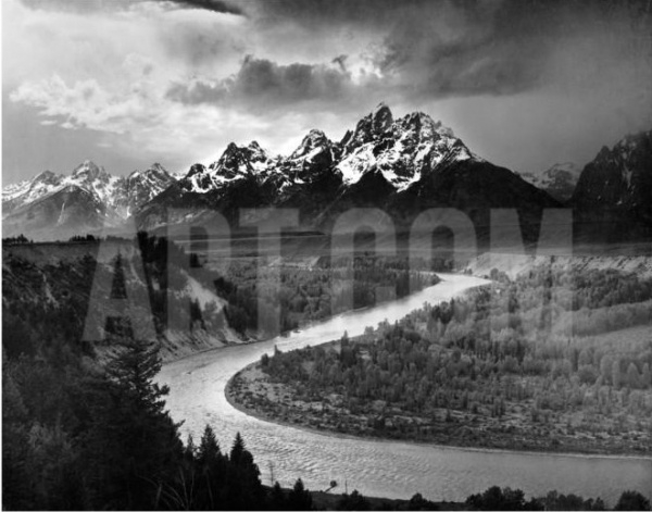 GRAND TETON NATIONAL PARK Vintage Photography