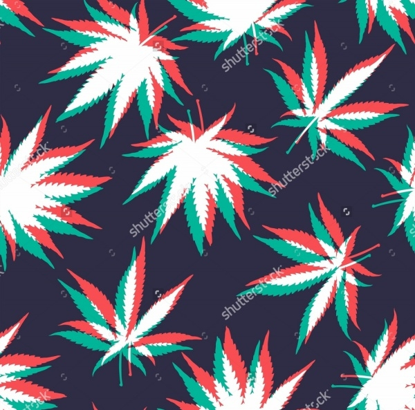 21 weed patterns photoshop patterns freecreatives for Design patterns for pot painting