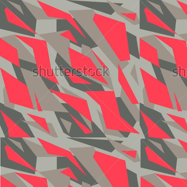 Geometric camouflage pattern