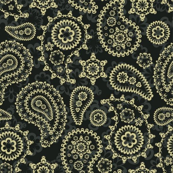 Gorgeous Classic Pattern Vector