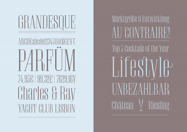 Grandesque Luxury Fashion Font
