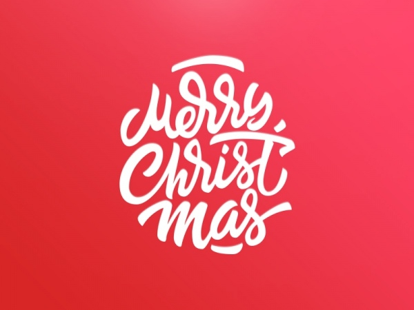 Graphic christmas font
