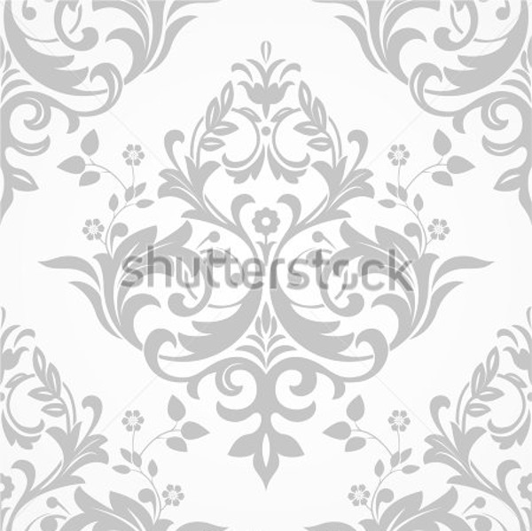 Gray and white Baroque Texture