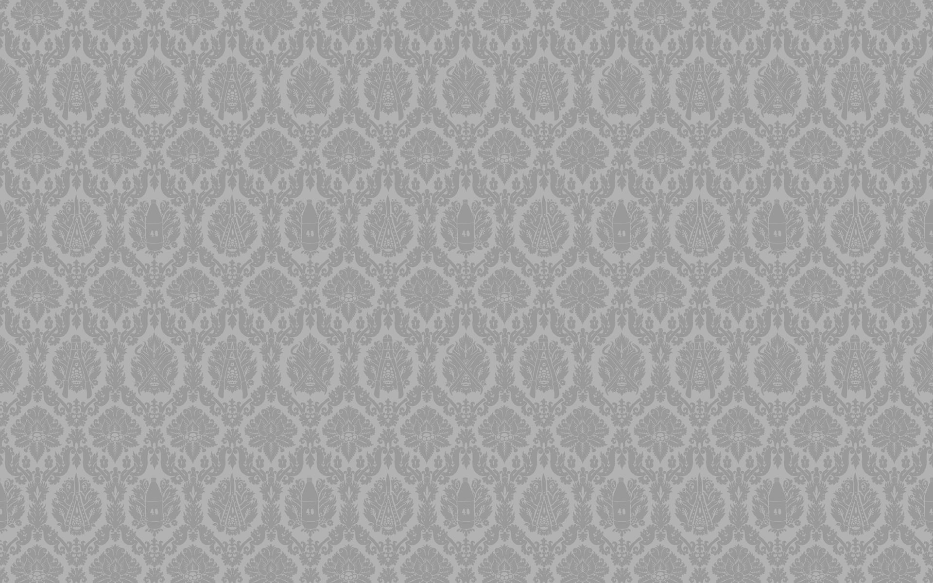 Grey White Classic Pattern