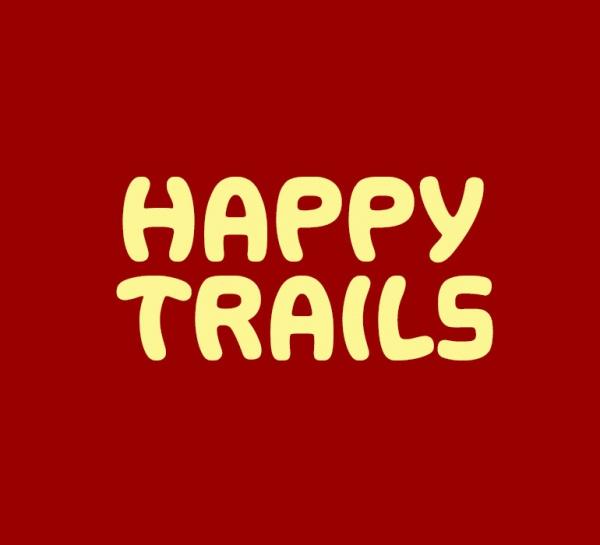 Happy Trails Decorative Font